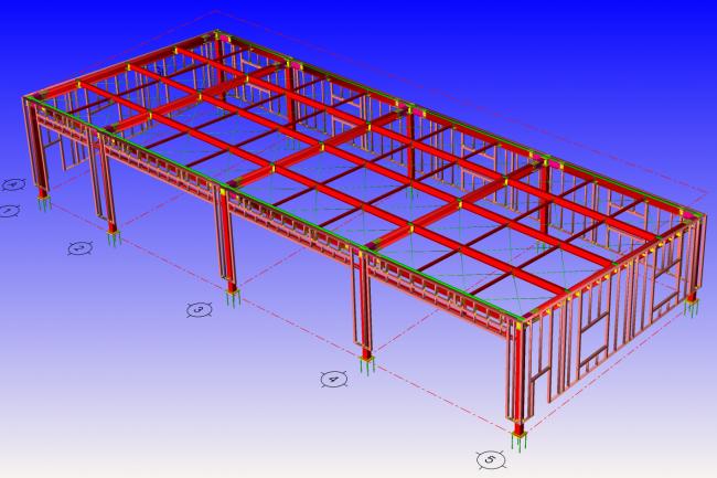 教育機関スクールバス倉庫建設工事
